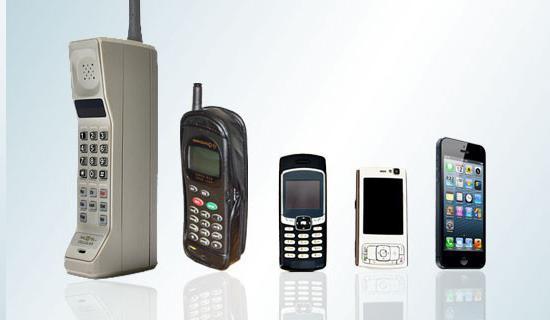 Поколения мобильной связи 1G, 2G, 3G, 4G, 5G